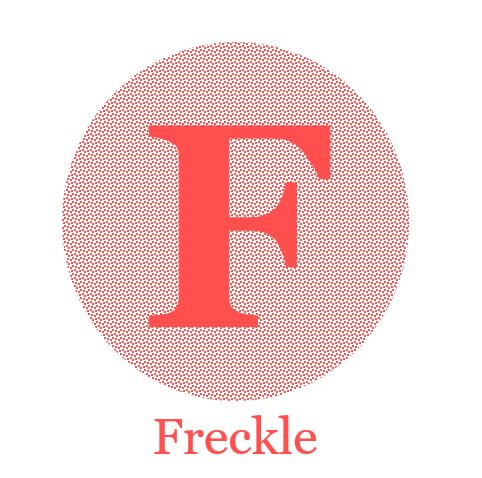 Freckle Logo Big Pink